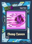 Chomp Cannon Card