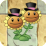 Twin Sunflower Costume4