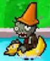 DS Ducky Tube Conehead Zombie