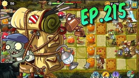 Plants vs. Zombies 2 New Imp Porter Zombie - Lost City Day 17 (Ep