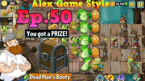 Plants vs. Zombies 2 Prize Dead Man's Booty Pirate Seas Day 4 (Ep