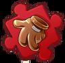 Cowboy Glove Puzzle Piece
