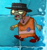 Poncho Zombie in Frostbite Caves