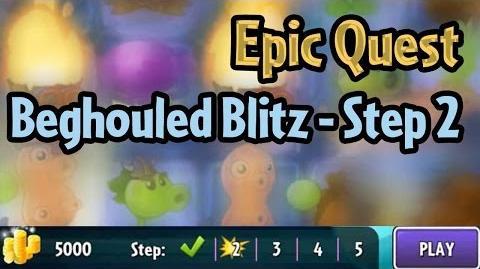 Plants vs Zombies 2 - Epic Quest Beghouled Blitz - Step 2