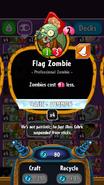 Flag Zombie statistics