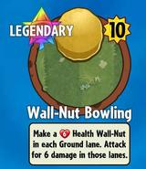 Receiving Wall-Nut Bowling