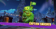 Captain smasher
