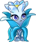 Frostbloom Queen Plant Icon Texture