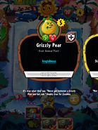 Grizzly Pear description