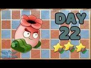 Plants vs Zombies 2 China - Renaissance Age Day 22 -Kinnikannon-《植物大战僵尸2》- 复兴时代 22天