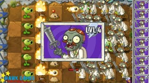 Plants vs Zombies 2 I, Zombie Minigame - Lost Doctor Zombie vs Plants 6