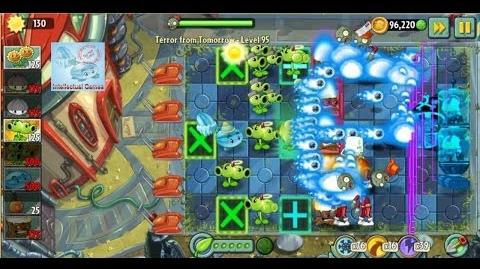 Terror From Tomorrow Level 95 96 Plants vs Zombies 2 Endless GamePlay
