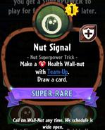 Nut Signal statistics