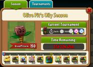Olive Pit's Oily Season Prize Map