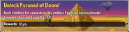 Unlock Pyramid of Doom!