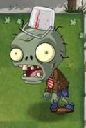 Big Brainz Buckethead Zombie
