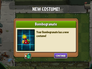 Getting Bombegranate First Costume
