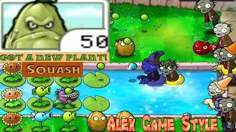 Plants vs. Zombies Adventure Got a Squash level 3-1 Pool (Android Gameplay HD) Ep