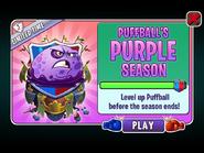 Puffball's Purple Season Ending