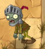 Knight Zombie in Wild West