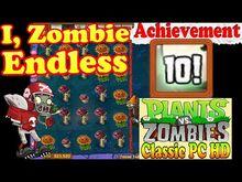 Plants vs. Zombies Achievement Better Off Dead I, Zombie Endless (Ep