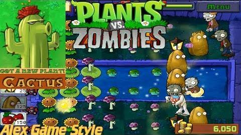 Plants vs. Zombies Adventure Got a Cactus level 4-2 Fog (Android Gameplay HD) Ep