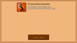 Pyromaniac Achievement in the iOS Version.png