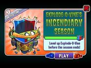 Explode-o-Vine's Incendiary Season Ending