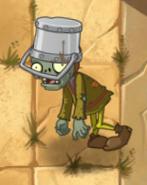 Buckethead Peasant in Wild West