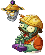 HD Zombot Drone Engineer by Flag Zombie