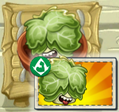 Headbutter Lettuce with his boost