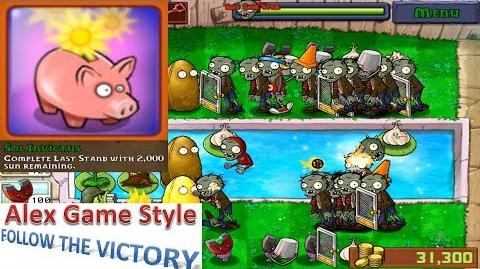 Plants vs. Zombies - Achievement - Sol Invictus Mini Games Last Stand (Android Gameplay HD) Ep