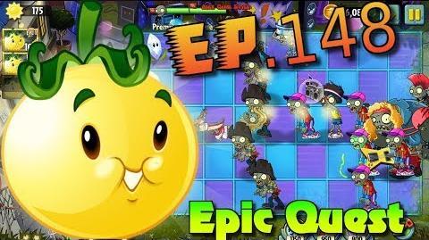Plants vs. Zombies 2 - SOLAR TOMATO! - Epic Quest Premium Seeds Premium Plant Quest (Ep