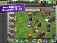 App Store Screenshots Food Fight 2015