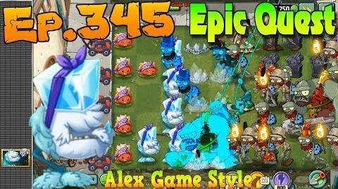 Plants vs. Zombies 2 COLD SNAPDRAGON - Epic Quest Premium Seeds (Ep