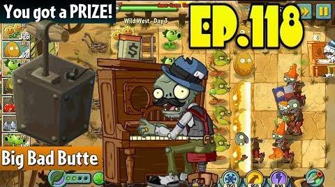 Plants vs. Zombies 2 New Pianist Zombie Wild West Day 3 (Ep