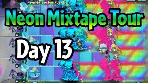 Plants vs Zombies 2 - Neon Mixtape Tour Day 13 (Beta) Last Stand