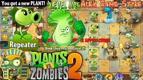 Plants vs. Zombies 2 Got a New Plant Repeater Ancient Egypt Day 19 (Ep