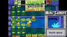Plants vs. Zombies - Invisi-ghoul Mini-Games - Classic PC HD (Ep