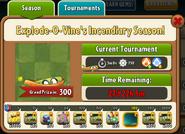 Explode-o-Vine's Incendiary Season Prize Map