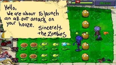 Plants vs. Zombies Adventure Found a note level 1-9 Day (Android Gameplay HD) Ep