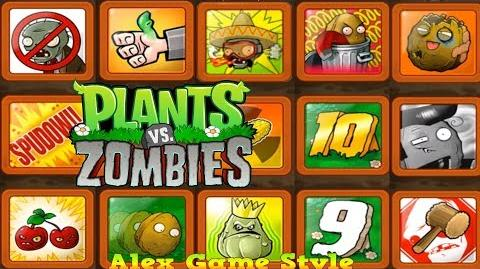 Plants vs. Zombies - Overview of achievements Playlist finished (Android HD) Ep