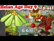 Plants vs. Zombies 2 (China) - New Shogun Gargantuar - Heian Age Day 9 (Ep