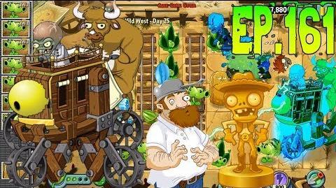 Plants vs. Zombies 2 Defeat ZomBoss - Zombot War Wagon - Wild West Day 25 (Ep