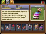 Cake Tank Almanac Entry (Part 2)