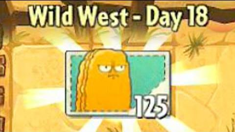 Wild West Day 18 - Plants vs Zombies 2