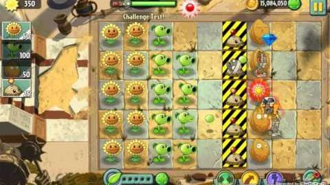 Challenge Test! - Unused Level - Plants vs