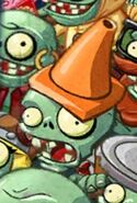 Conehead in Multiplayer menu
