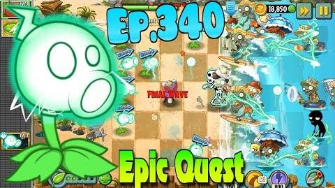 Plants vs. Zombies 2 ELECTRIC PEASHOOTER - Epic Quest Premium Seeds (Ep