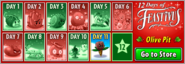 12 Days of Feastivus 2020 Day 11 Olive Pit Main Menu